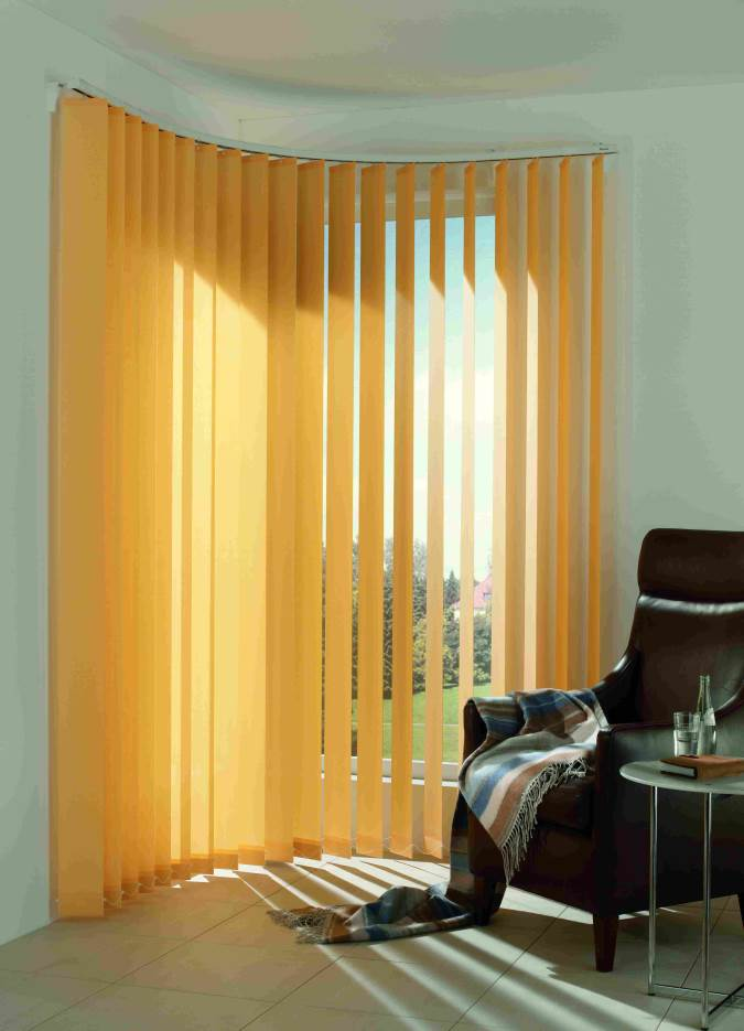 Großartig Lamellenvorhänge für den Arbeits- und Wohnbereich - Sonnen-Sicht  BP77
