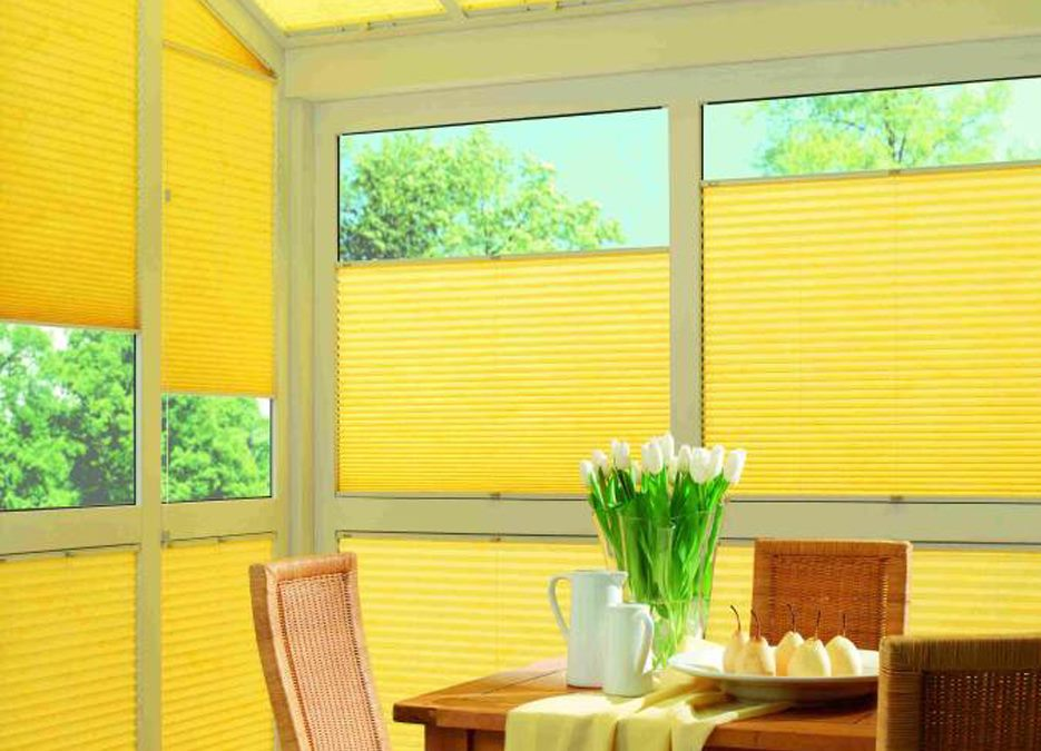 Sonnenschutz und Sichtschutz Spezialist in Hasbergen - Faltstores / Plissees -Lösungen für jedes Fenster